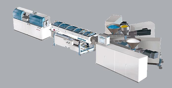 Breyer Ecoline Cosmetic Tube Extrusion Machine